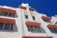 Παλαιό κτήριο deco τέχνης Στοκ εικόνες με δικαίωμα ελεύθερης χρήσης