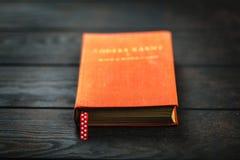 παλαιό κόκκινο βιβλίων Στοκ Φωτογραφίες