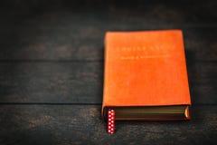 παλαιό κόκκινο βιβλίων Στοκ Φωτογραφία