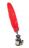 παλαιό κόκκινο καθορισμέ& Στοκ φωτογραφία με δικαίωμα ελεύθερης χρήσης