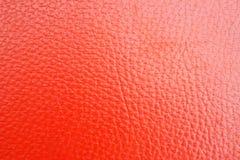 Παλαιό κόκκινο leatherette σύστασης στοκ φωτογραφίες με δικαίωμα ελεύθερης χρήσης
