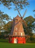 παλαιό κόκκινο windmil Στοκ Εικόνες