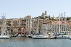 Παλαιό λιμάνι στη Μασσαλία Γαλλία 12 Μαΐου 2006 Μασσαλία Γαλλία Στοκ εικόνες με δικαίωμα ελεύθερης χρήσης