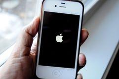Παλαιό μήλο iphone5 στοκ φωτογραφία