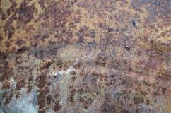 Παλαιό μεταλλικό υπόβαθρο σκουριάς στοκ εικόνα