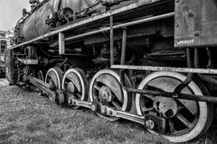 Παλαιό μνημείο σιδηροδρόμων τραίνων μεταφορών Στοκ εικόνες με δικαίωμα ελεύθερης χρήσης