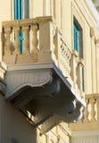 Παλαιό μπαλκόνι στη Πάφο στοκ φωτογραφία