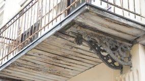 Παλαιό μπαλκόνι Στοκ Εικόνα