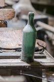 Παλαιό μπουκάλι αμπέλων Στοκ Φωτογραφία