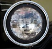 Παλαιό μπροστινό φως αυτοκινήτων Στοκ Εικόνα