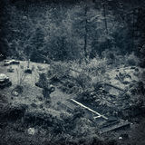 Παλαιό νεκροταφείο Στοκ εικόνες με δικαίωμα ελεύθερης χρήσης