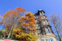 Παλαιό ξενοδοχείο κάστρων της Αγγλίας σε Cingjing, Ταϊβάν στοκ εικόνα με δικαίωμα ελεύθερης χρήσης