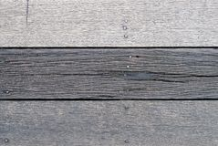 Παλαιό ξεπερασμένο αγροτικό σκούρο γκρι ξύλινο πάτωμα σανίδων ή υπόβαθρο σύστασης τοίχων στοκ φωτογραφία με δικαίωμα ελεύθερης χρήσης