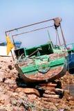 Παλαιό ξύλινο αλιευτικό σκάφος Στοκ Φωτογραφία