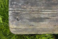 Παλαιό ξύλινο βήμα Στοκ Εικόνες