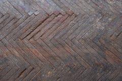Παλαιό ξύλινο δάπεδο παρκέ στοκ εικόνα με δικαίωμα ελεύθερης χρήσης