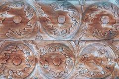 Παλαιό ξύλινο κατασκευασμένο μακρο σχέδιο στοκ εικόνα με δικαίωμα ελεύθερης χρήσης