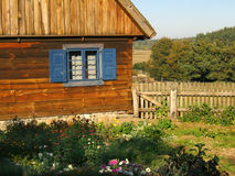 Παλαιό ξύλινο κτήριο στοκ εικόνες με δικαίωμα ελεύθερης χρήσης