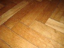 Παλαιό ξύλινο πάτωμα παρκέ Στοκ φωτογραφία με δικαίωμα ελεύθερης χρήσης