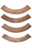 Παλαιό ξύλινο πιάτο Στοκ Εικόνες