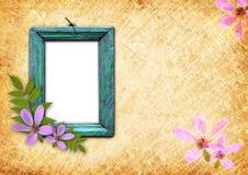 Παλαιό ξύλινο πλαίσιο στοκ φωτογραφία με δικαίωμα ελεύθερης χρήσης