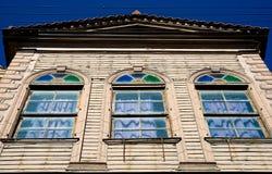 Παλαιό ξύλινο σπίτι Στοκ φωτογραφία με δικαίωμα ελεύθερης χρήσης