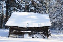 Παλαιό ξύλινο υπόστεγο Στοκ Φωτογραφία