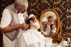 παλαιό ξύρισμα Στοκ Εικόνες