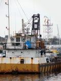 παλαιό οξυδωμένο σκάφος Στοκ Φωτογραφίες