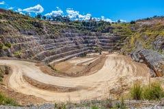 Παλαιό ορυχείο ασβεστόλιθων στοκ εικόνα