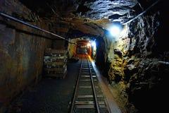Παλαιό ορυχείο ουράνιου στοκ εικόνες