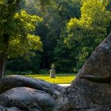 παλαιό πάρκο Στοκ εικόνες με δικαίωμα ελεύθερης χρήσης