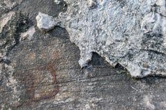 Παλαιό πάτωμα τσιμέντου Στοκ εικόνα με δικαίωμα ελεύθερης χρήσης