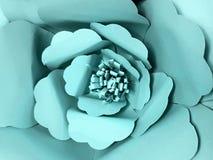 παλαιό παράθυρο σύστασης λεπτομέρειας ανασκόπησης ξύλινο Λουλούδι χρώματος εγγράφου, έντονο aquamarine Στοκ φωτογραφία με δικαίωμα ελεύθερης χρήσης