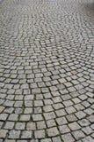 παλαιό πεζοδρόμιο κυβόλ&iot Στοκ φωτογραφία με δικαίωμα ελεύθερης χρήσης
