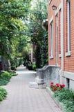 παλαιό πεζοδρόμιο πόλεων Στοκ Εικόνες