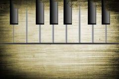 παλαιό πιάνο Στοκ Εικόνα