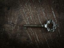 παλαιό πλήκτρο Στοκ φωτογραφίες με δικαίωμα ελεύθερης χρήσης