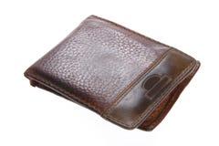παλαιό πορτοφόλι πορτοφ&omicr Στοκ εικόνα με δικαίωμα ελεύθερης χρήσης