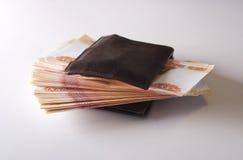 παλαιό πορτοφόλι Στοκ Φωτογραφίες