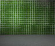 Παλαιό πράσινο δωμάτιο Στοκ εικόνες με δικαίωμα ελεύθερης χρήσης