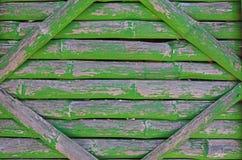 Παλαιό πράσινο σχέδιο του τοίχου μπαμπού στοκ εικόνες