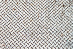 Παλαιό πρότυπο πατωμάτων χάλυβα Στοκ Εικόνες