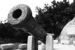 Παλαιό πυροβόλο Στοκ εικόνα με δικαίωμα ελεύθερης χρήσης