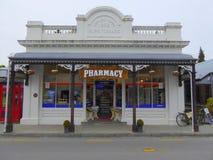 Παλαιό πόλης φαρμακείο Στοκ εικόνες με δικαίωμα ελεύθερης χρήσης