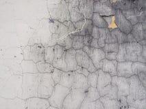 Παλαιό ραγισμένο άσπρο χρώμα, υπόβαθρο, σύσταση Στοκ Εικόνα