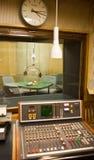 Παλαιό ραδιο στούντιο μέσα Στοκ εικόνα με δικαίωμα ελεύθερης χρήσης