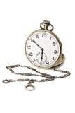 παλαιό ρολόι τσεπών αλυσί&de στοκ εικόνες με δικαίωμα ελεύθερης χρήσης