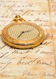παλαιό ρολόι τσεπών πολύ Στοκ φωτογραφίες με δικαίωμα ελεύθερης χρήσης