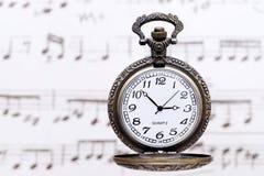 παλαιό ρολόι τσεπών Στοκ Φωτογραφία